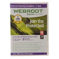 Webroot Software Internet Security Complete - 2 Years