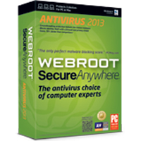 Webroot Software WSA Antivirus - 3 User/1 Year