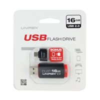Unirex 16GB OTG USB 2.0 Flash Drive Bundle