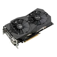 ASUS ROG Radeon RX-570 Overclocked Dual-Fan 4GB GDDR5 PCIe Video Card