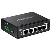 Trendnet 5-Port Hardened Industrial Gigabit DIN-Rail Switch