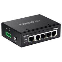 Trendnet 5-Port Hardened Industrial Gigabit DIN-Rail Switch