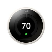 Nest Learning Thermostat 3rd Generation - White