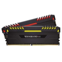 Corsair Vengeance RGB 16GB 2 x 8GB DDR4-3466 PC4-27700 CL16 Dual Channel Desktop Memory Kit