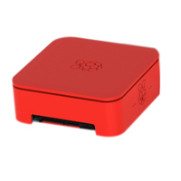 Allied Electronics Quattro Case with Vesa - Red