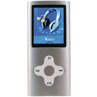 Eclipse Enterprise 180 Sl 4GB Portable MP3 Player - Silver