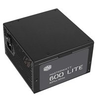 Cooler Master Masterwatt Lite 600 Watt 80 Plus ATX Power Supply