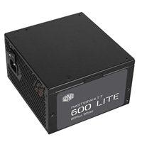 Cooler Master Masterwatt Lite 600 Watt 80 Plus ATX Power Supply