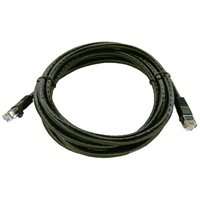 Shaxon CAT 6 Molded Boots Network Cable 7 ft. – Black