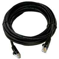 Shaxon CAT 6 Molded Boots Network Cable 14 ft. - Black