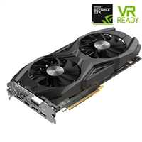 Zotac AMP GeForce GTX 1080 Ti Overclocked Dual-Fan 11GB GDDR5X PCie Video Card
