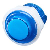 Adafruit Industries 24mm Mini LED Arcade Button - Translucent Blue