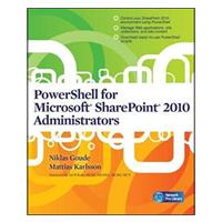 McGraw-Hill POWERSHELLSHAREPOINT 2010