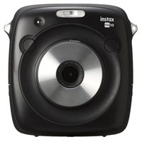 Fujifilm Instax SQ10 Square Print Camera - Black