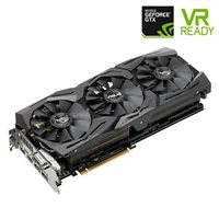 ASUS ROG STRIX GeForce GTX 1080 Overclocked 8GB GDDR5X Video Card