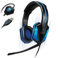 Accessory Power ENHANCE Gaming Headset with 7.1 Virtual Surround Sound
