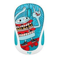 Logitech M325c Doodle Collection Wireless Optical Mouse - SkateBurger