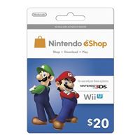 Nintendo eShop $20 Points Card