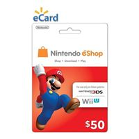 Nintendo eShop $50 Points Card