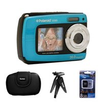 Polaroid IS 085 16 Megapixel Waterproof Camera - Blue