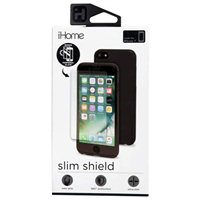 iHome Slim Shield with Tempered Glass Screen Protector for iPhone 7 - Black