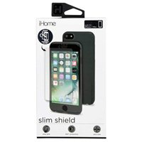 iHome Slim Shield with Tempered Glass Screen Protector for iPhone 7 Plus/7s Plus