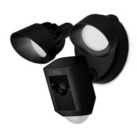 Ring Floodlight Security Camera - Black