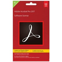 Adobe Acrobat Pro 2017 Student Teacher (PC)