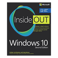 Pearson/Macmillan Books Windows 10 Inside Out, 2nd Edition