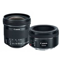 Canon Portrait and Travel 2-Lens Kit - Black