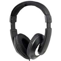 Vivitar Deejay Listen Up Stereo Headphones - Black