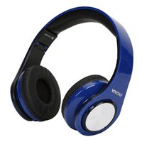 Vivitar Wired Headphones - Blue