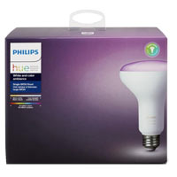 Philips Hue White and Color Ambiance BR30 LED Bulb - Single Pack