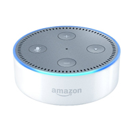 AmazonEcho Dot 2nd Generation - White