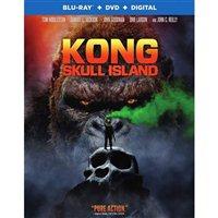 Warner Kong Skull Island Blu-ray