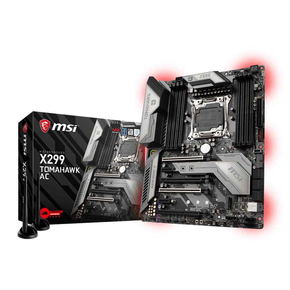 MSI X299 TOMAHAWK AC LGA 2066 ATX Intel Motherboard