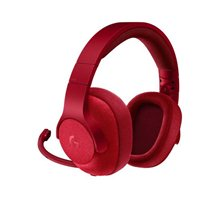 Logitech G433 7.1-Ch. Wired Surround Gaming Headset - Red