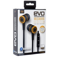 Sentry BT851 EVO Bluetooth, Rechargeable, Wireless In-Ear Buds with In Line Mic