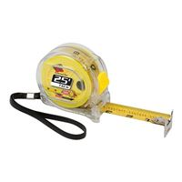 Performance Tools 25ft Tape Measure - Clear