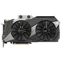 ASUS ROG Poseidon Platinum GeForce GTX 1080Ti Overclocked Dual-Fan 11GB GDDR5X PCIe Video Card