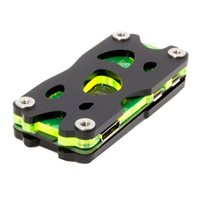 C4Labs Nucleus Zero Case for Raspberry Pi Zero & Zero Wireless - Black/Laser Lime