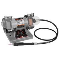 "Performance Tools 3"" Portable Bench Grinder"