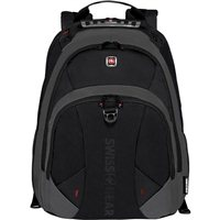 "Swiss Gear PULSAR Laptop Backpack w/ Tablet Pocket Fits Screens up to 16"" - Black"