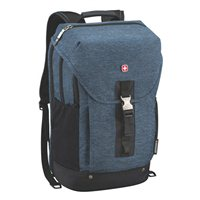 "Swiss Gear Apastron Laptop Backpack w/ Tablet Pocket Fits Screens up to 16"" - Blue"