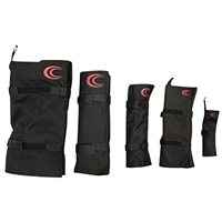 Cord Controller 5 Pack, Assorted Size - Black