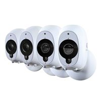 Swann Communications Battery-Powered Security Camera 4-Pack
