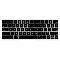 "MacAlly Keyboard Cover for 13""/15"" MacBook Pro with Touch Bar - Black"