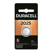 Duracell 3V Coin Cell Lithium Battery CR2025