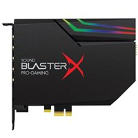 Creative Labs Sound BlasterX AE-5 Gaming Sound Card w/ RGB