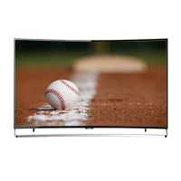 "Sharp N9000U 65"" (Refurbished) AQUOS 4K LED Smart Curved TV"